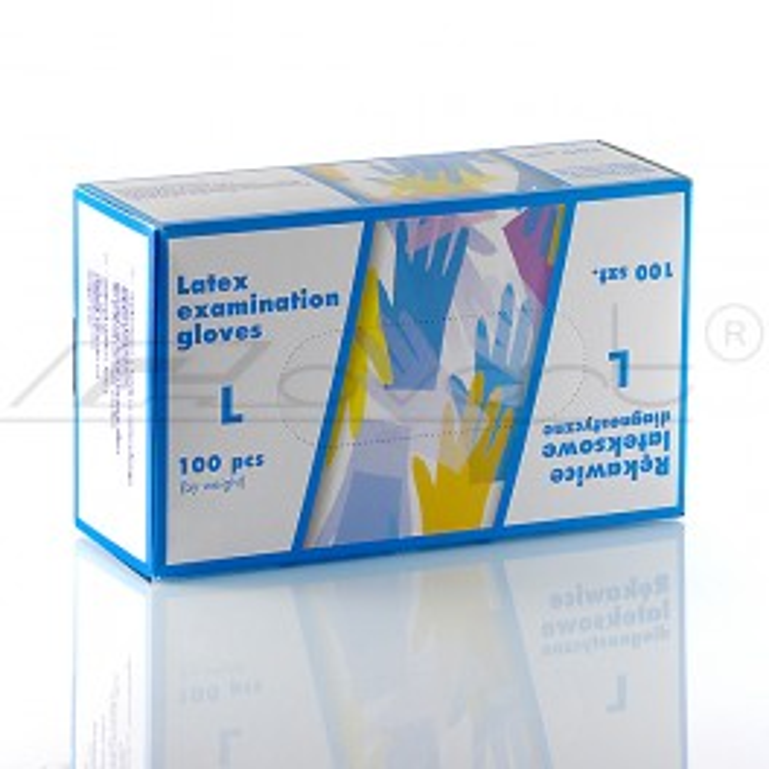 Rękawiczki lateksowe - L- A100